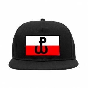 Snapback Polska Walcząca i flaga Polski