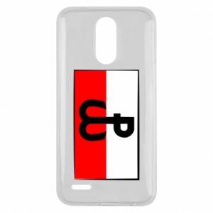 Etui na Lg K10 2017 Polska Walcząca i flaga Polski