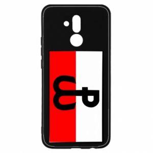 Etui na Huawei Mate 20 Lite Polska Walcząca i flaga Polski