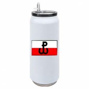 Puszka termiczna Polska Walcząca i flaga Polski