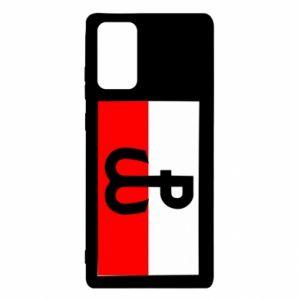 Etui na Samsung Note 20 Polska Walcząca i flaga Polski