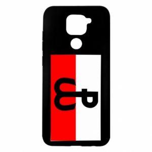 Etui na Xiaomi Redmi Note 9/Redmi 10X Polska Walcząca i flaga Polski
