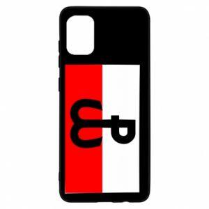 Etui na Samsung A31 Polska Walcząca i flaga Polski