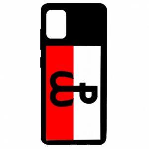 Etui na Samsung A51 Polska Walcząca i flaga Polski