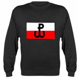 Bluza (raglan) Polska Walcząca i flaga Polski