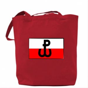 Bag Fighting Poland and the flag of Poland