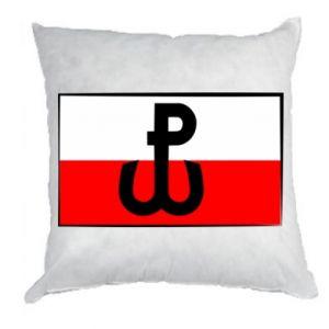 Poduszka Polska Walcząca i flaga Polski