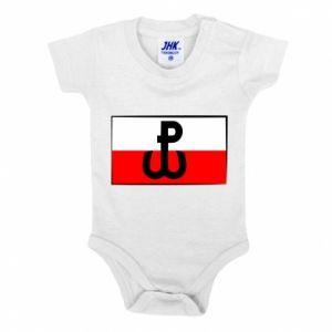 Body dla dzieci Polska Walcząca i flaga Polski