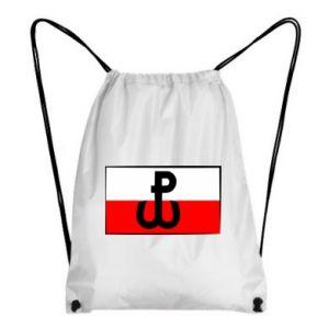 Plecak-worek Polska Walcząca i flaga Polski