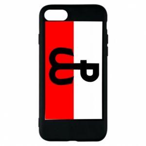 Etui na iPhone 7 Polska Walcząca i flaga Polski