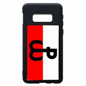 Etui na Samsung S10e Polska Walcząca i flaga Polski