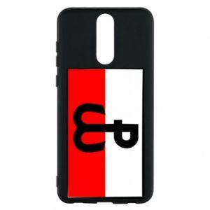 Etui na Huawei Mate 10 Lite Polska Walcząca i flaga Polski