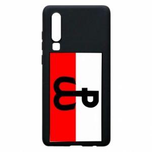 Etui na Huawei P30 Polska Walcząca i flaga Polski