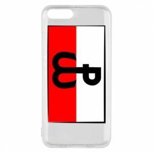 Etui na Xiaomi Mi6 Polska Walcząca i flaga Polski