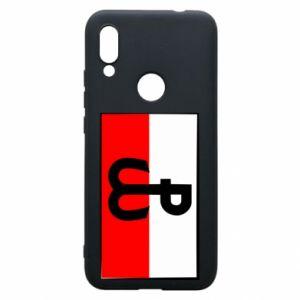 Etui na Xiaomi Redmi 7 Polska Walcząca i flaga Polski