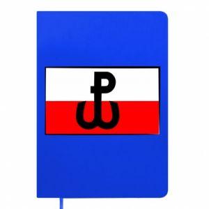 Notes Polska Walcząca i flaga Polski