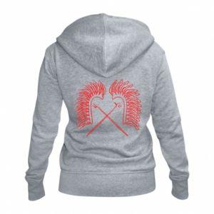 Women's zip up hoodies Poland. Hussars - PrintSalon