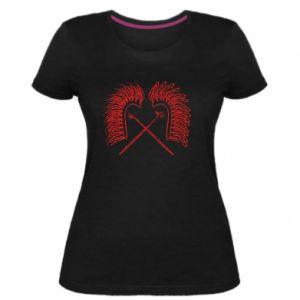 Women's premium t-shirt Poland. Hussars - PrintSalon