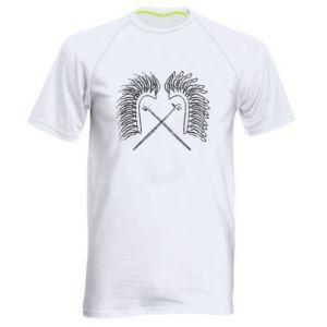 Men's sports t-shirt Poland. Hussars - PrintSalon