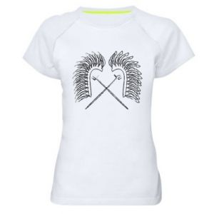 Women's sports t-shirt Poland. Hussars - PrintSalon