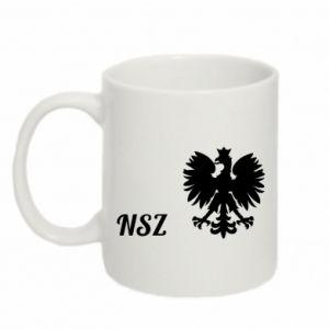 Kubek 330ml Polska. NSZ