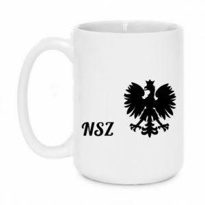 Kubek 450ml Polska. NSZ