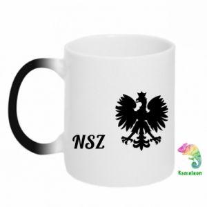 Kubek-kameleon Polska. NSZ
