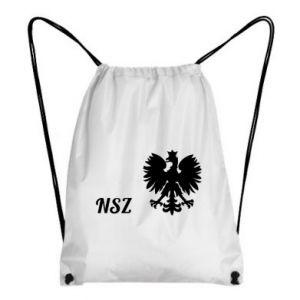 Plecak-worek Polska. NSZ