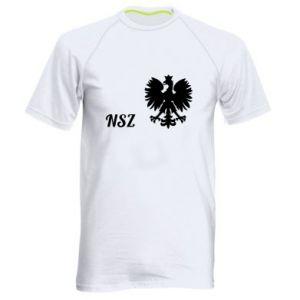 Męska koszulka sportowa Polska. NSZ