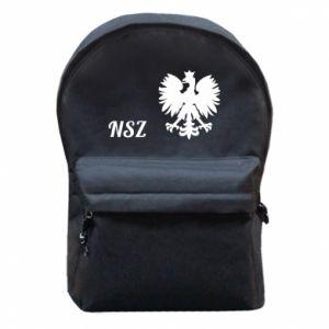 Plecak z przednią kieszenią Polska. NSZ