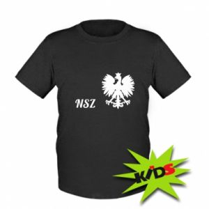 Kids T-shirt Poland National Armed Forces