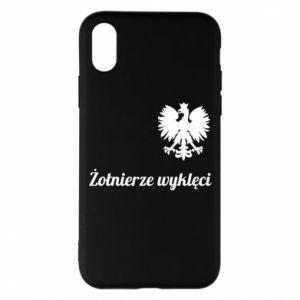 Etui na iPhone X/Xs Polska. Żołnierze wyklęci
