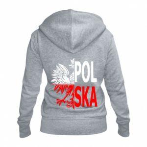 Damska bluza na zamek Polska