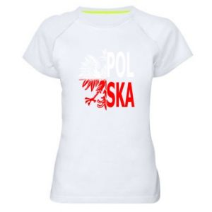 Women's sports t-shirt Poland
