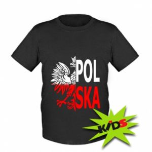 Kids T-shirt Poland