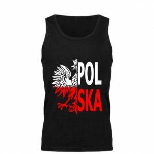 Męska koszulka Polska