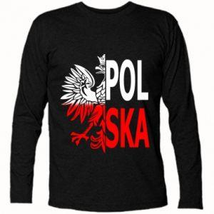 Koszulka z długim rękawem Polska