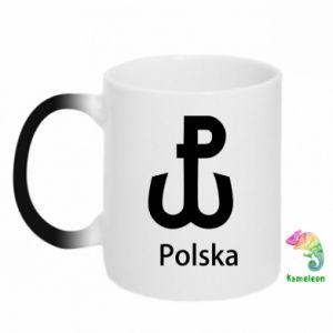 Kubek-kameleon Polska Walcząca