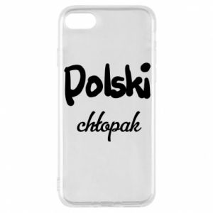 Phone case for iPhone 7 Polish boy - PrintSalon