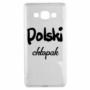 Etui na Samsung A5 2015 Polski chłopak