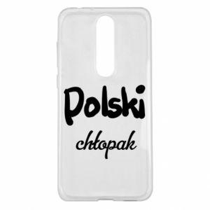 Etui na Nokia 5.1 Plus Polski chłopak