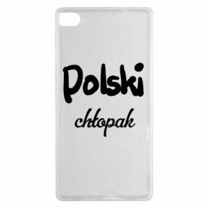 Etui na Huawei P8 Polski chłopak