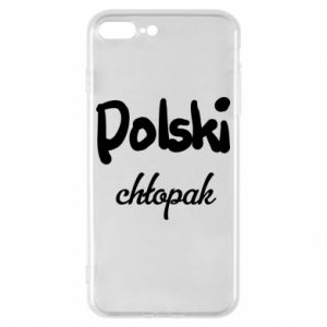 Phone case for iPhone 7 Plus Polish boy - PrintSalon