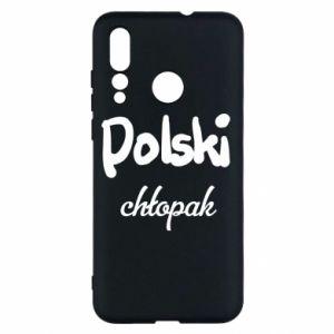 Etui na Huawei Nova 4 Polski chłopak