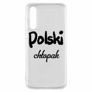 Etui na Huawei P20 Pro Polski chłopak