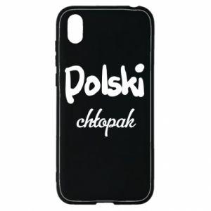 Etui na Huawei Y5 2019 Polski chłopak
