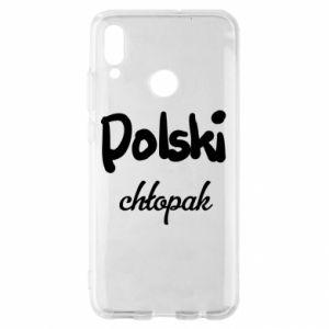 Etui na Huawei P Smart 2019 Polski chłopak