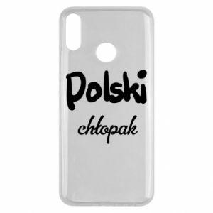 Etui na Huawei Y9 2019 Polski chłopak