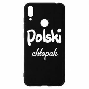 Etui na Huawei Y7 2019 Polski chłopak