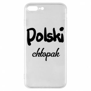 Phone case for iPhone 8 Plus Polish boy - PrintSalon